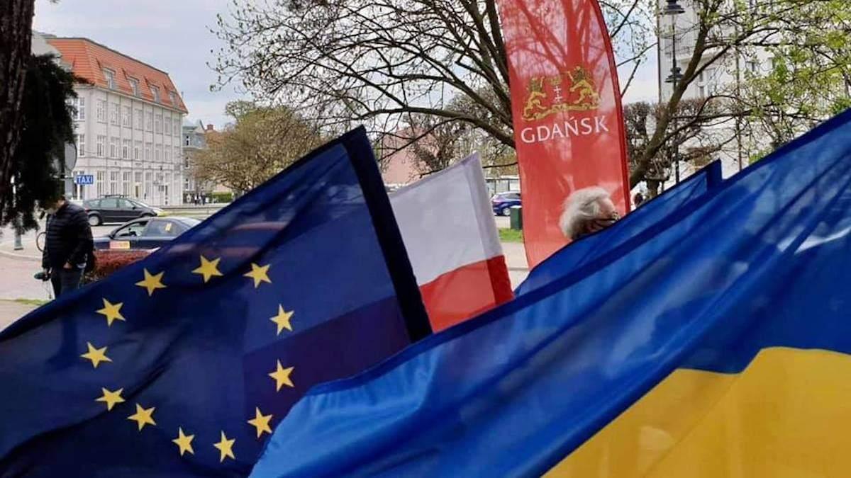 Сквер в польском Гданьске официально получил имя генерала УНР