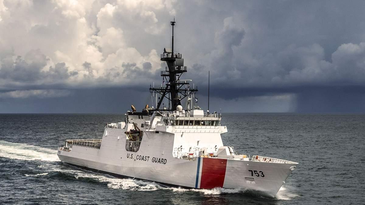 В порт Одессы зашел фрегат береговой охраны США