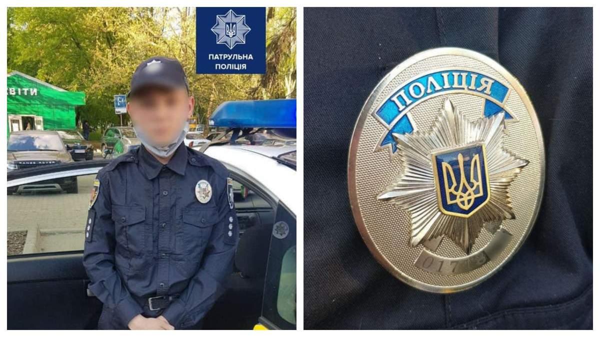 В Запорожье подросток одел полицейскую форму и пошел наводить порядок