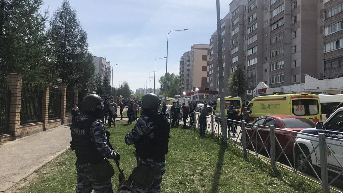Силовики РФ заявили, що нападник у школі Казані діяв сам