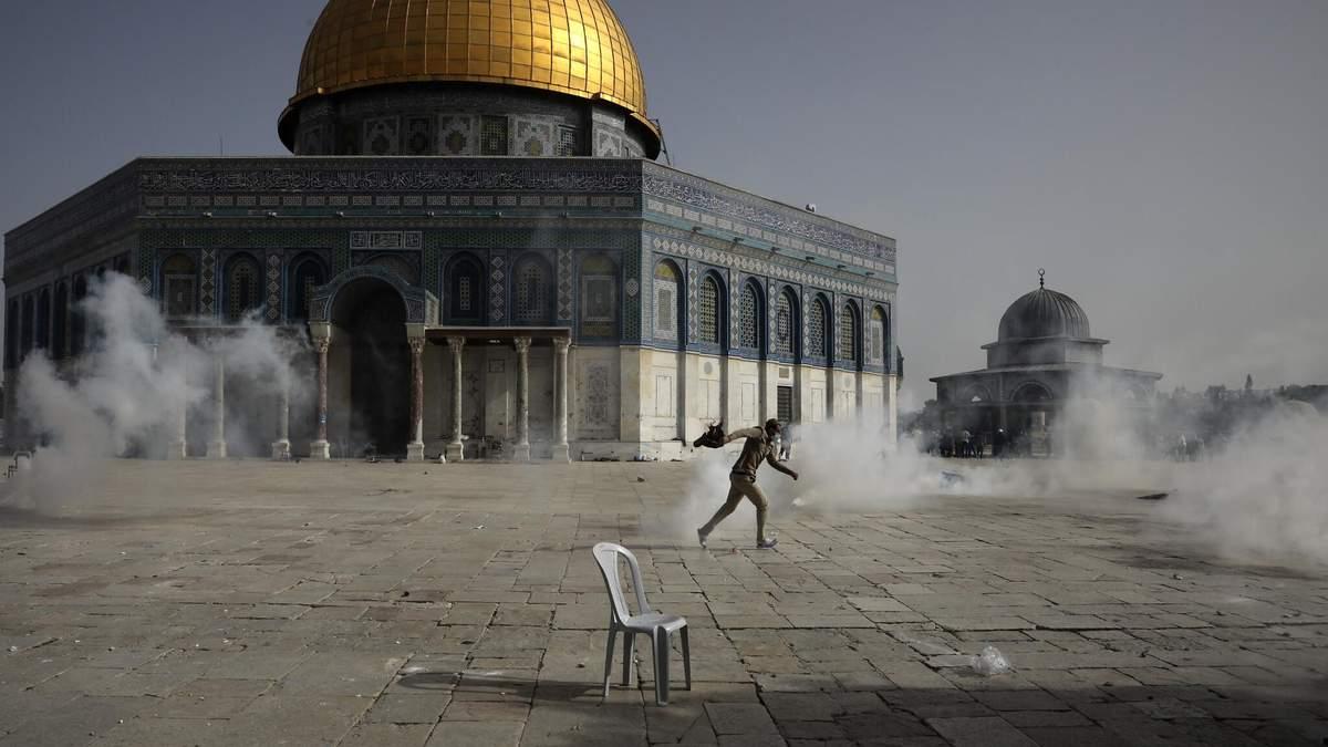 Израиль против палестинцев