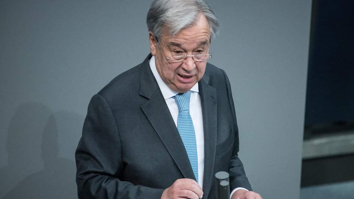 Генсек ООН прокоментував ідею про введення миротворців на Донбас