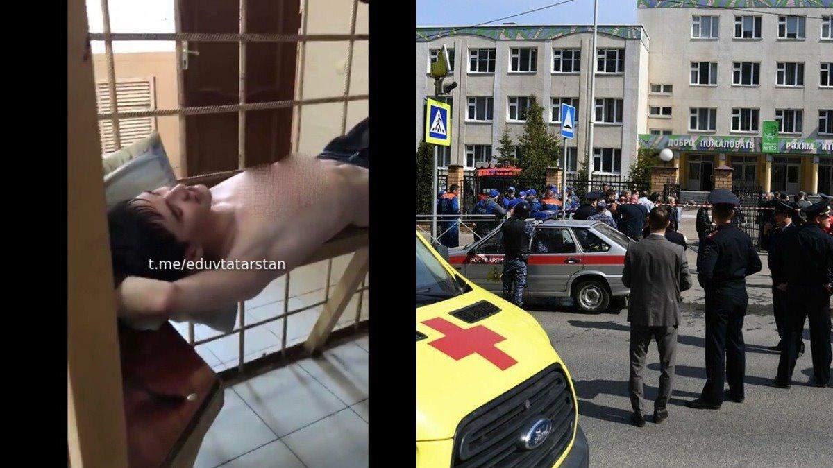 Стрельба в казанской школе 11 мая: видео допроса Галявиева