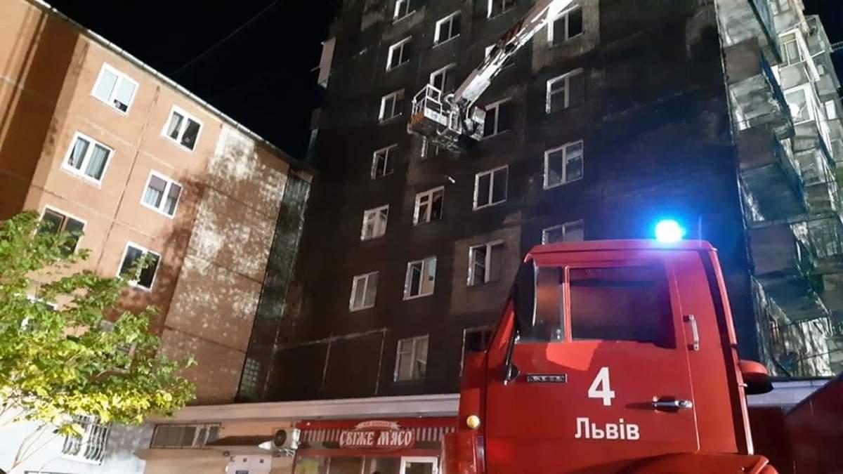 Причина масштабної пожежі на Виговського у Львові