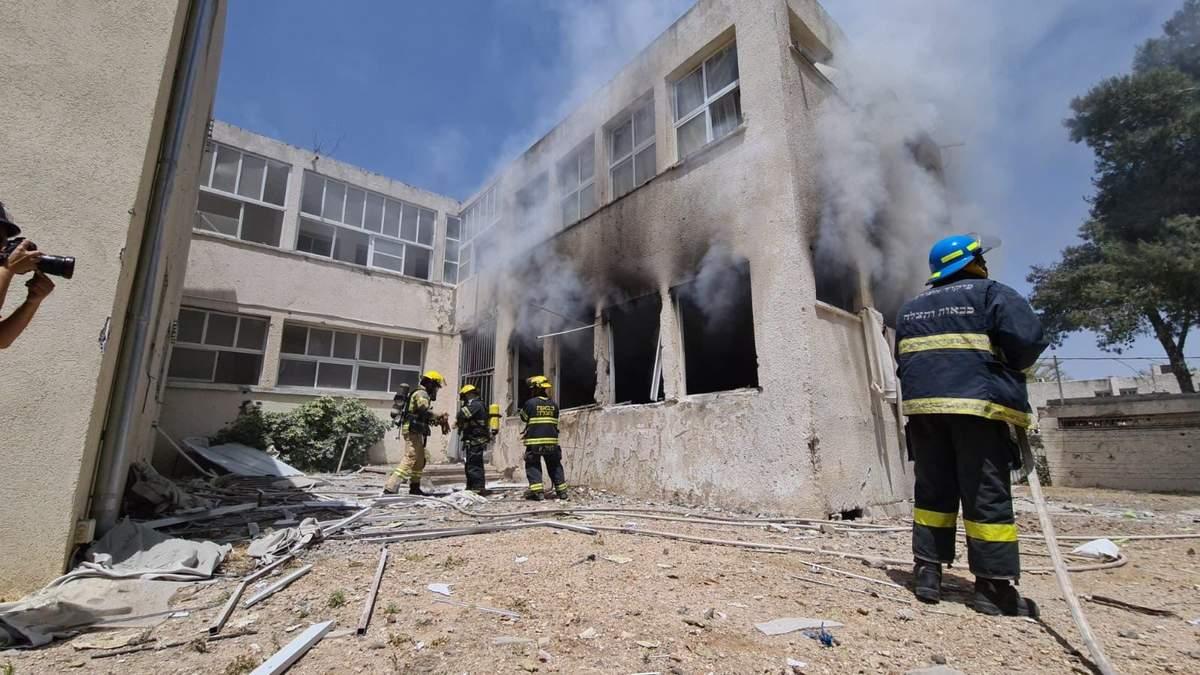 Обстрелы из Сектора Газы накрыли израильский город Ашкелон: видео
