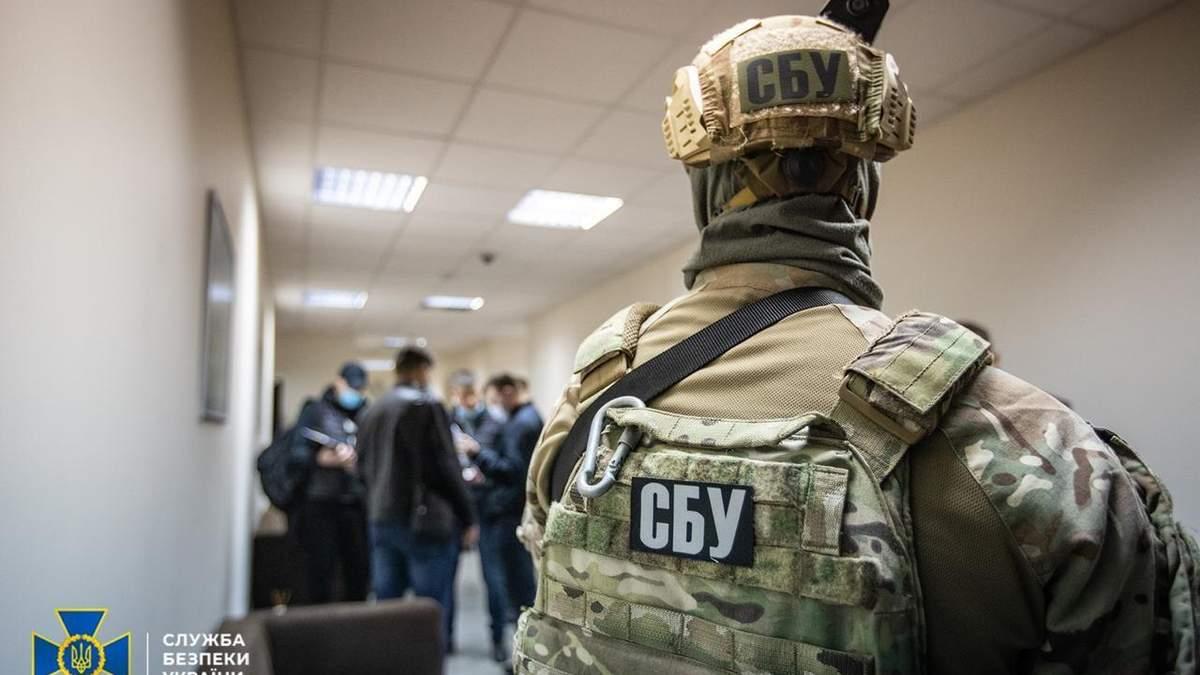 СБУ обыскивает офисы ОПЗЖ и Украинского выбора