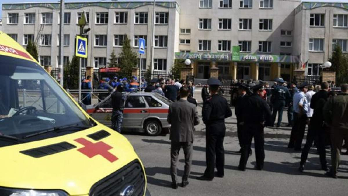 Стрельба в Казани: появились фото, видео и записи разговоров учеников