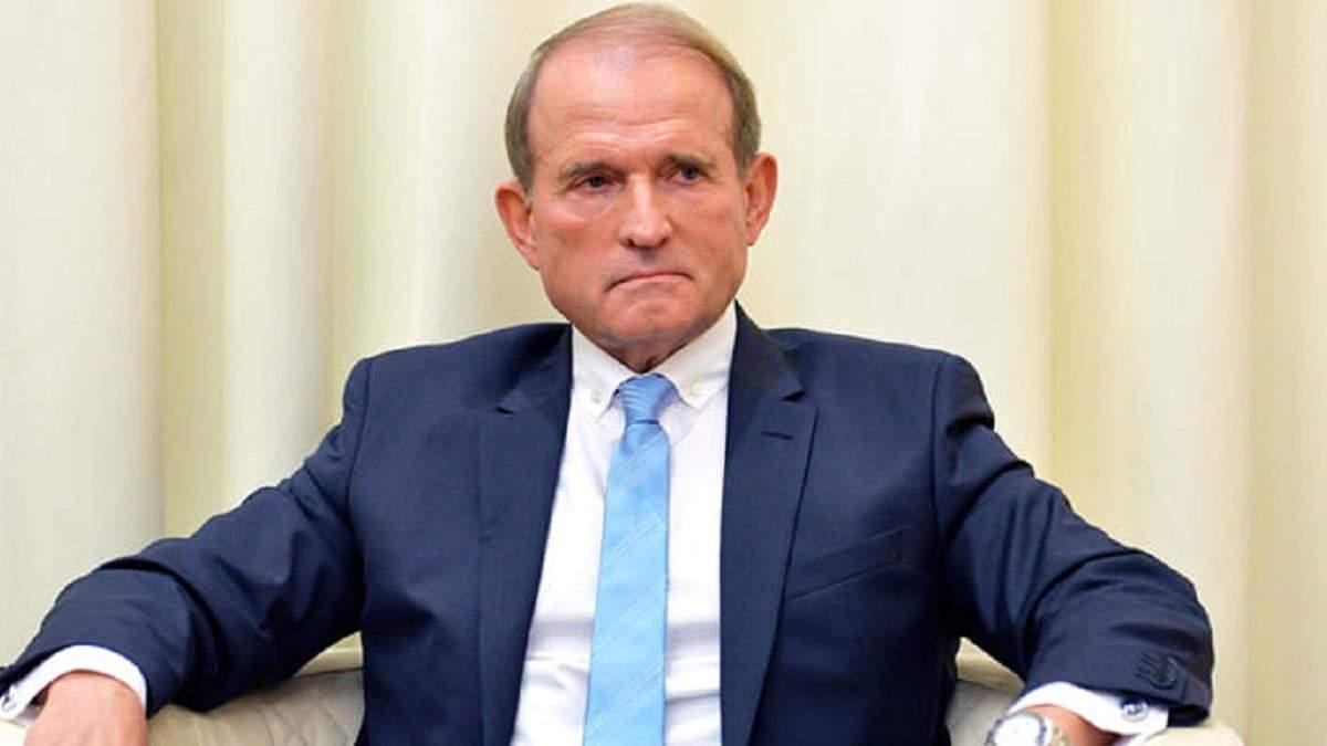 Подозрение Медведчуку должны были вручить 9 мая, но не смогли