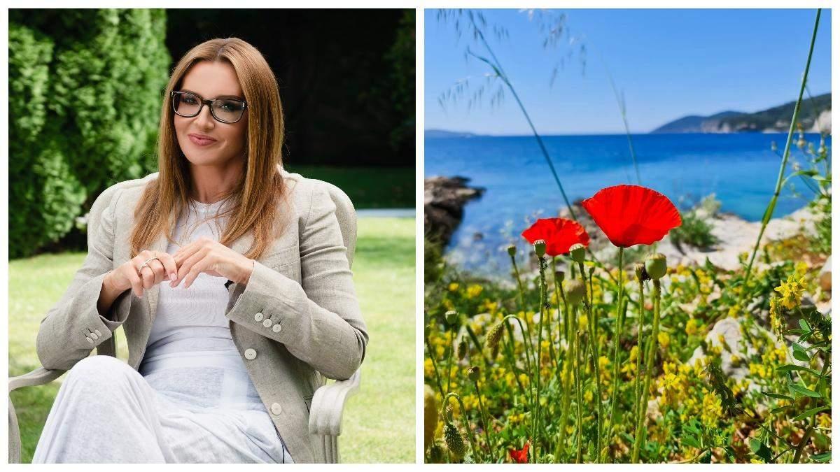 Марченко опублікувала світлини нібито відпочинку у Хорватії