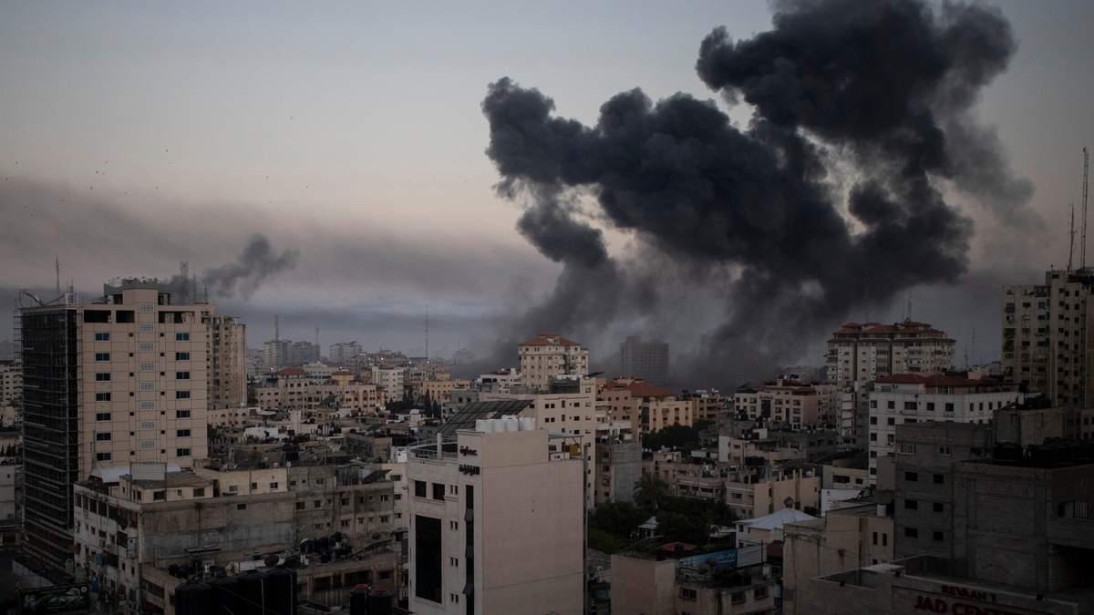 В секторе Газа погибли уже более 40 человек, в том числе дети, - СМИ