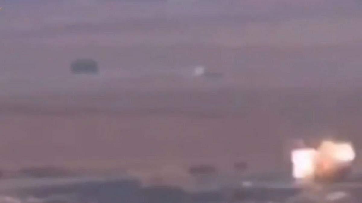 ХАМАС обстрелял израильский поселок с российской Корнета: видео