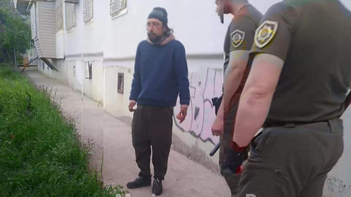 Под Одессой задержали серийного онаниста - видео, фото