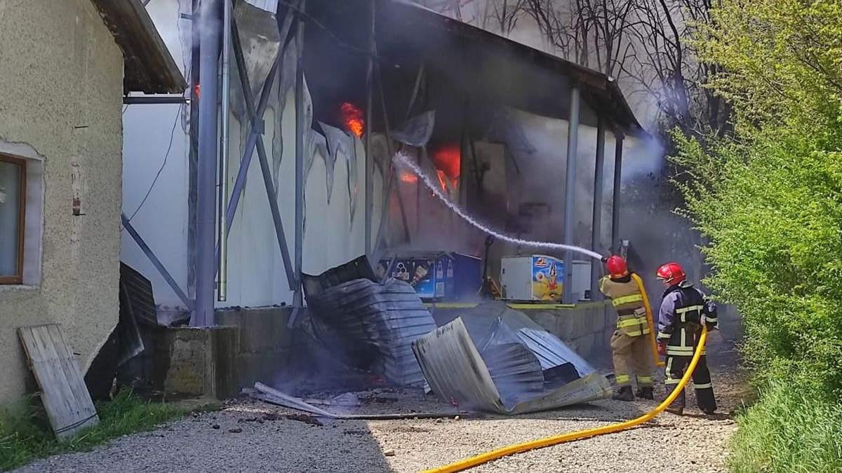 Крупный пожар в Ивано-Франковске вспыхнула 12 мая