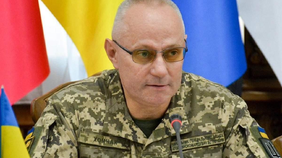 Україна лідирує з виконання завдань серед кандидатів в НАТО, – Хомчак