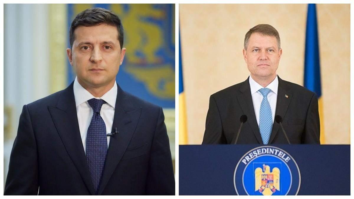 Зеленский обсудил с президентом Румынии милитаризацию Россией Крыма