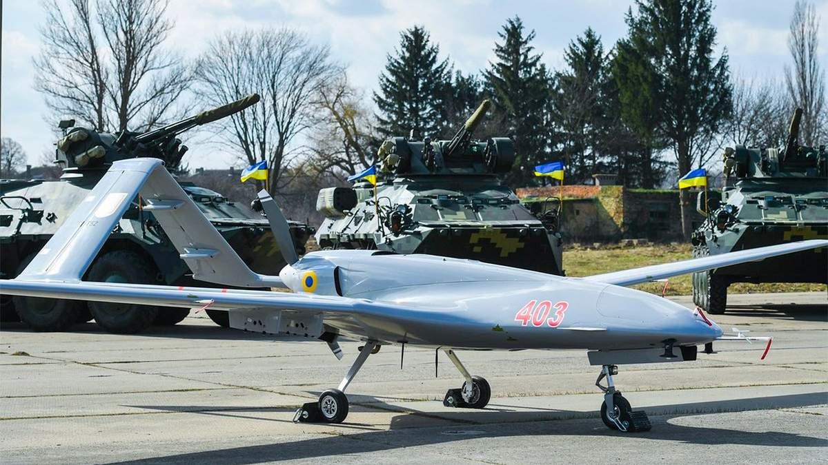 ВМС Украины в 2021 получат мощный беспилотник Bayraktar