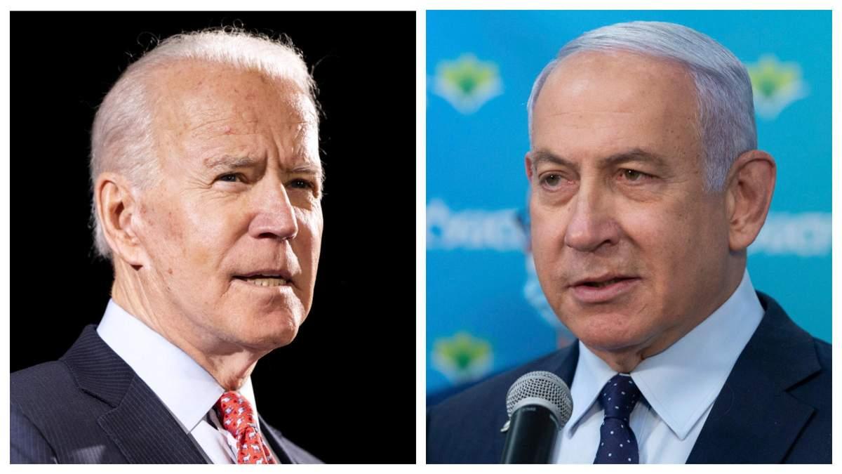 Ізраїль має право захищатися – Байден поговорив телефоном із Нетаньяху