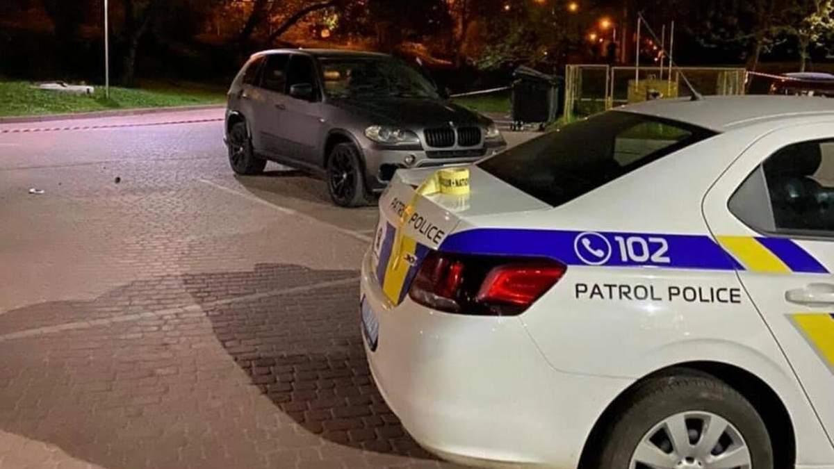 Обстрел BMW с РПГ в Ивано-Франковске: момент попал на видео