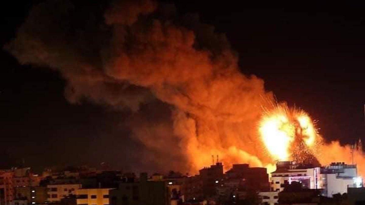 Израиль начал масштабную военную операцию против Cектора Газа – видео