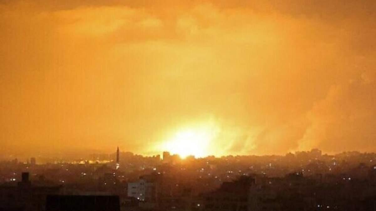 Армия Израиля нанесла удар по штабу внутренней безопасности ХАМАС