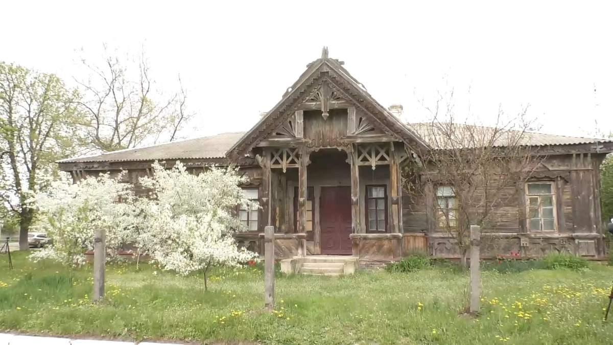 На Черкасщине рушится дом, созданный архитектором Городецким