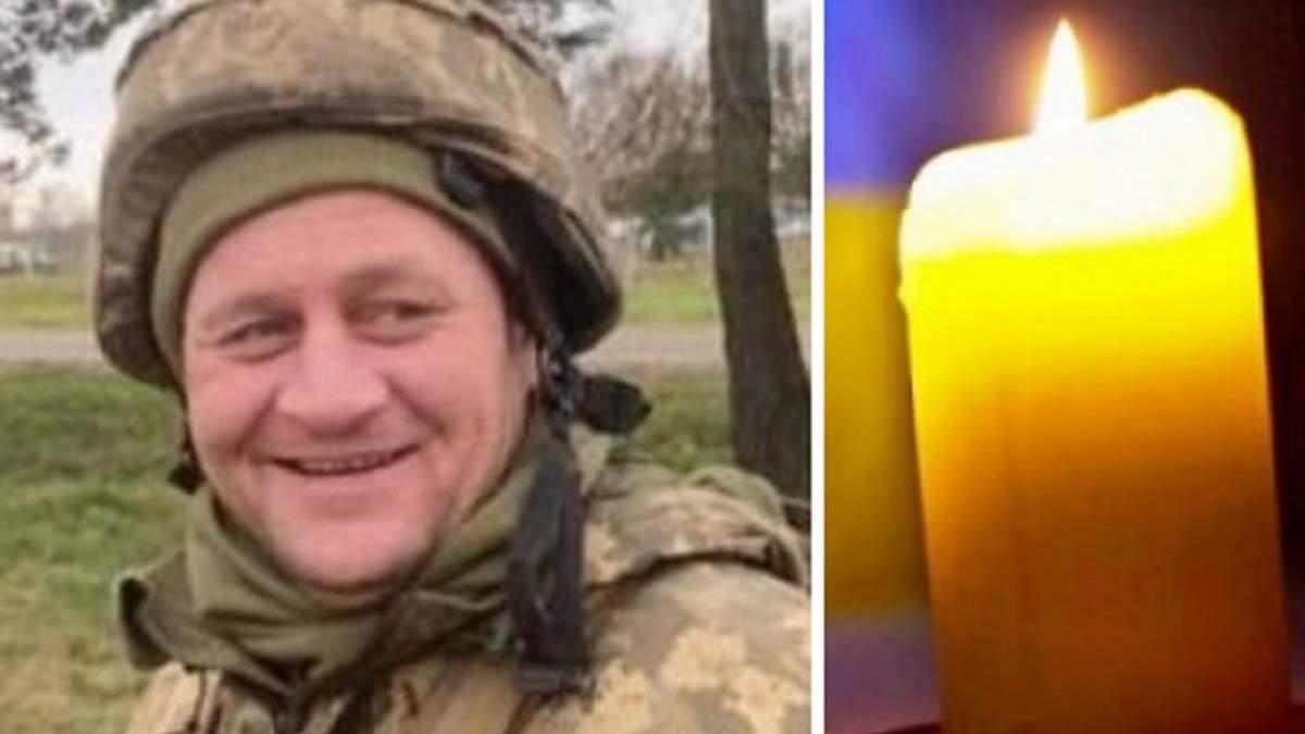 Від кулі снайпера на Донбасі 13 травня загинув Павло Колесник