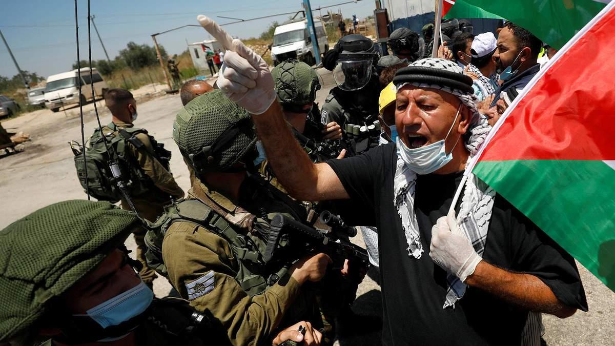 Йорданці сходяться до кордону, аби підтримати палестинців