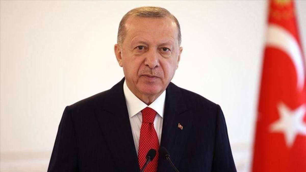 Ми розсерджені терором, – Ердоган про обстріли в Ізраїлі