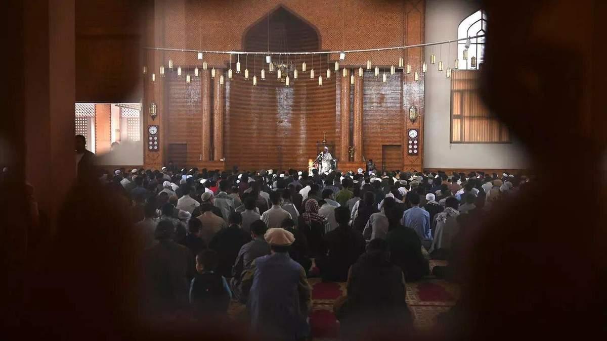 Взрыв в мечети в Кабуле 14 мая 2021: много жертв