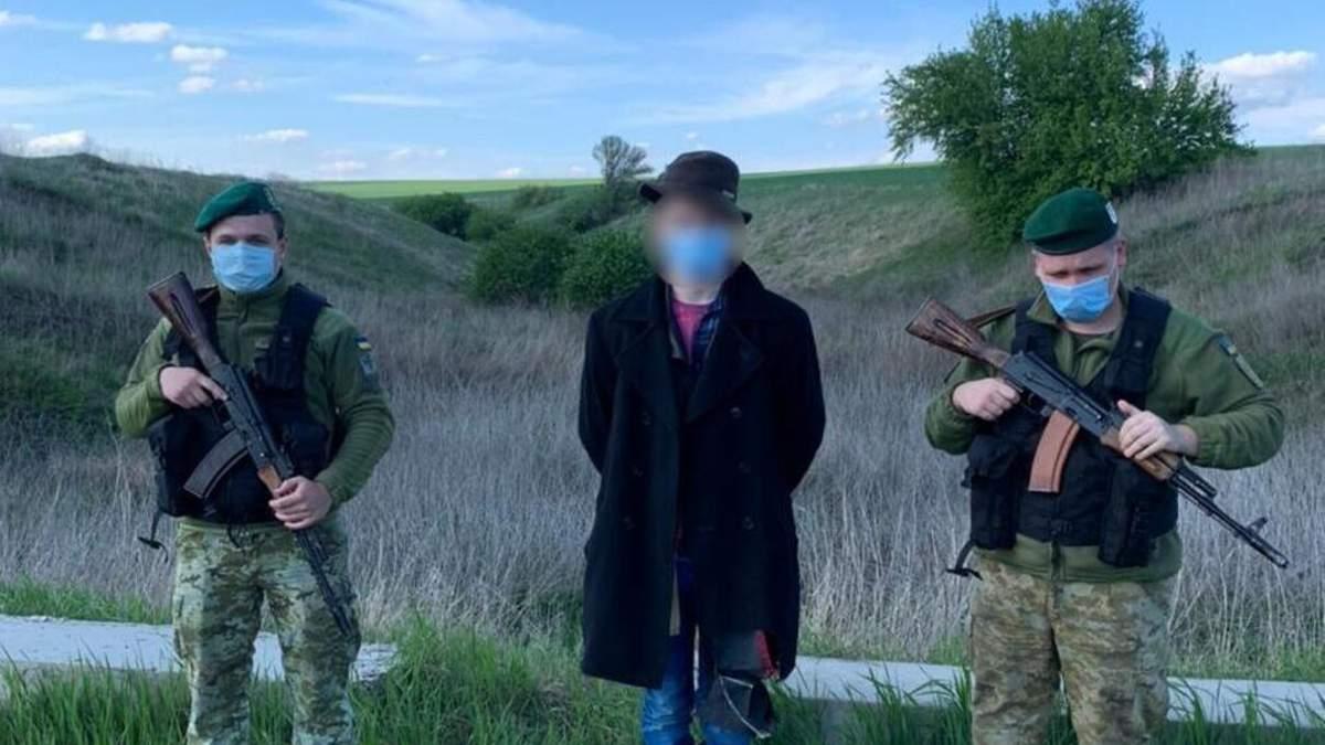 15-летний россиянин незаконно пересек границу Украины: детали