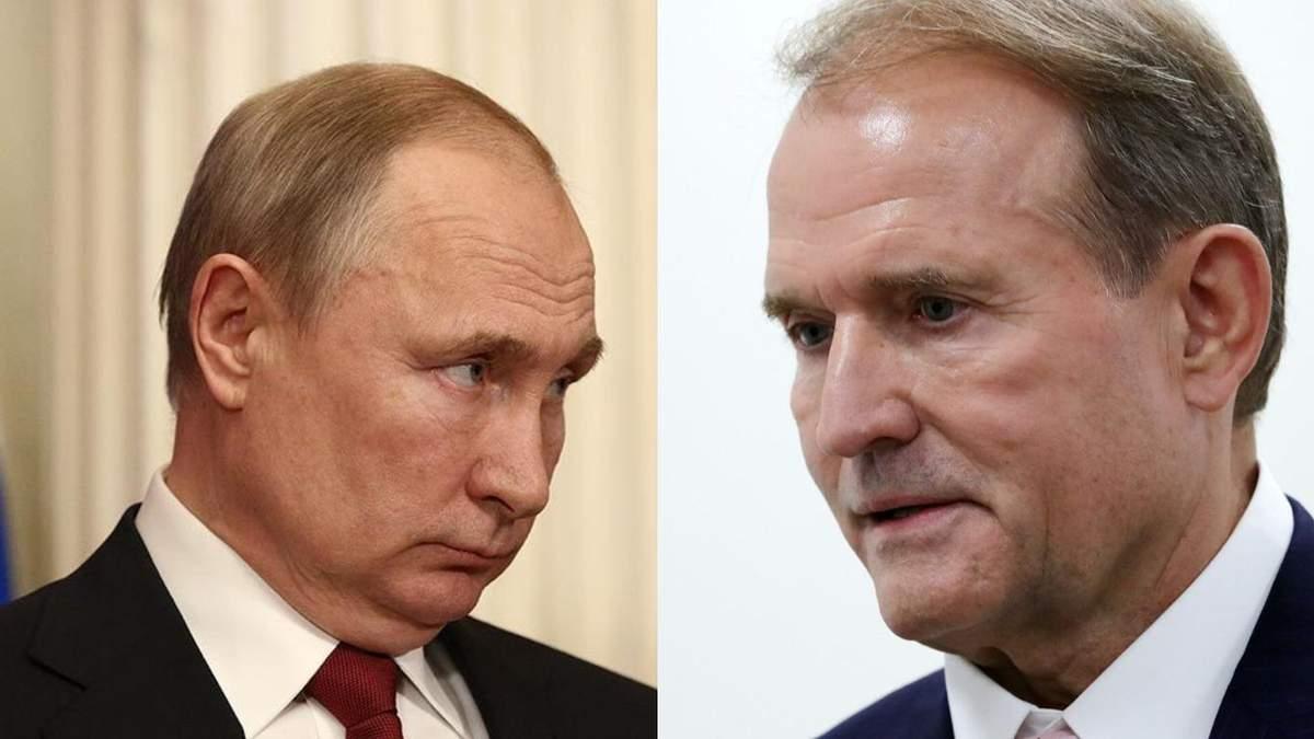 Будет реакция от Кремля, - Рябошапка о заявлении Путина через Медведчука