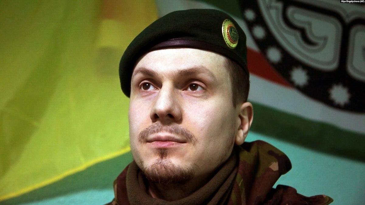 Легендарный доброволец Осмаев получил гражданство Украины