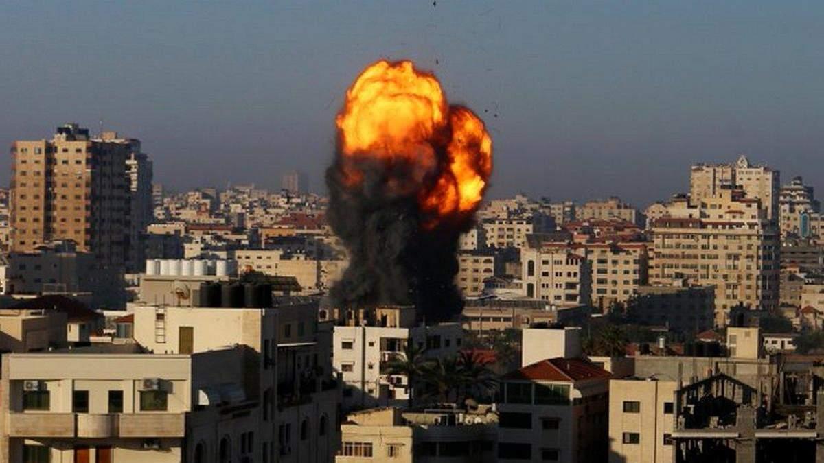 Через обстріли в Секторі Гази загинули щонайменше 10 людей