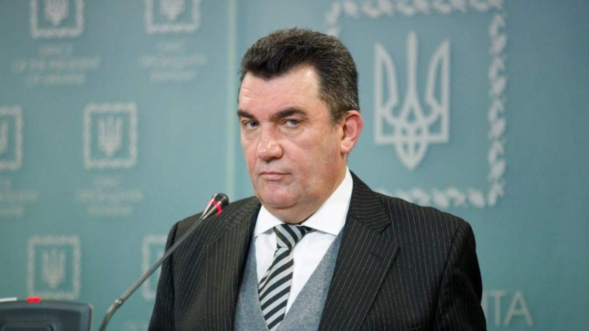 Данілов не виключив, що Медведчука можна обміняти на в'язнів Кремля