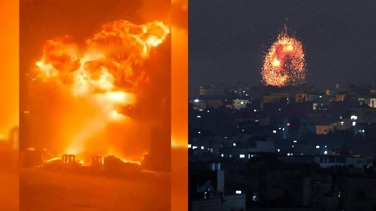 Боевики ХАМАС ударили ракетой по порту Израиля: видео