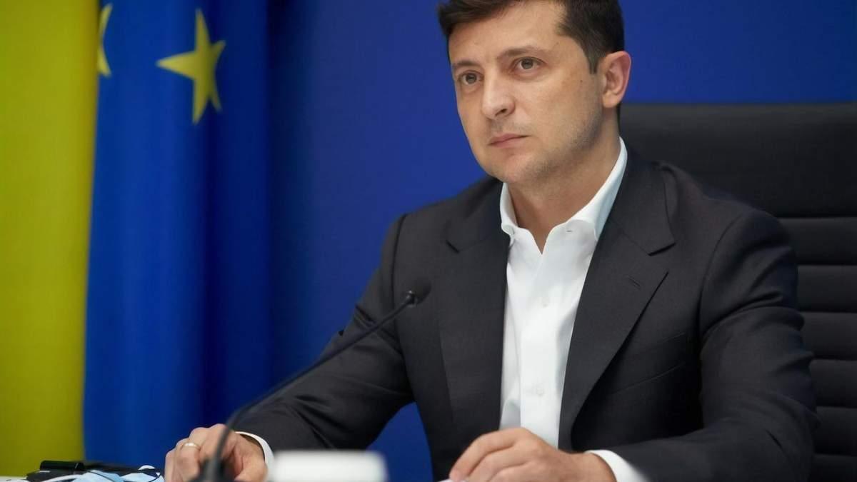 Владимир Зеленский 25 мая поздравил украинцев с Днем Европы