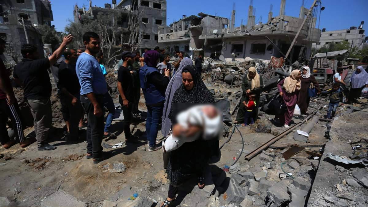 Обострение между Израилем и Сектором Газа погибли 42 ребенка