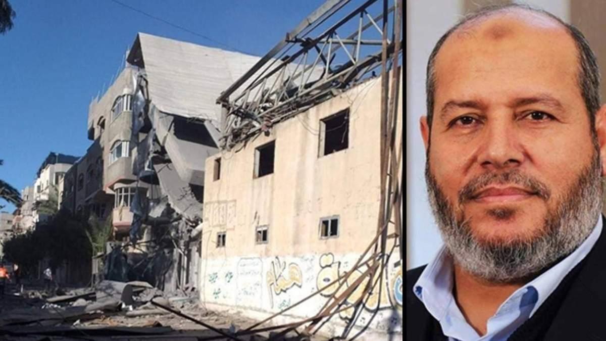 Ізраїль бомбардував будинки лідерів ХАМАС: відео