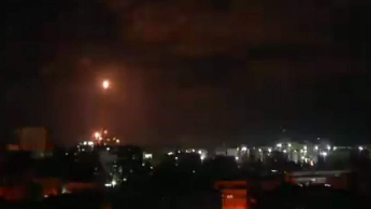 После 2-часового перемирия 16 мая 2021 ХАМАС выпустил ракеты по Израилю: видео