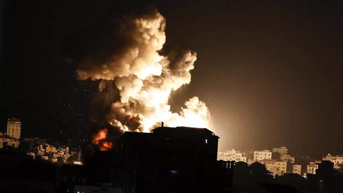 Ізраїльський ракетний удар знищив будинок лідера політбюро ХАМАС Сінвара