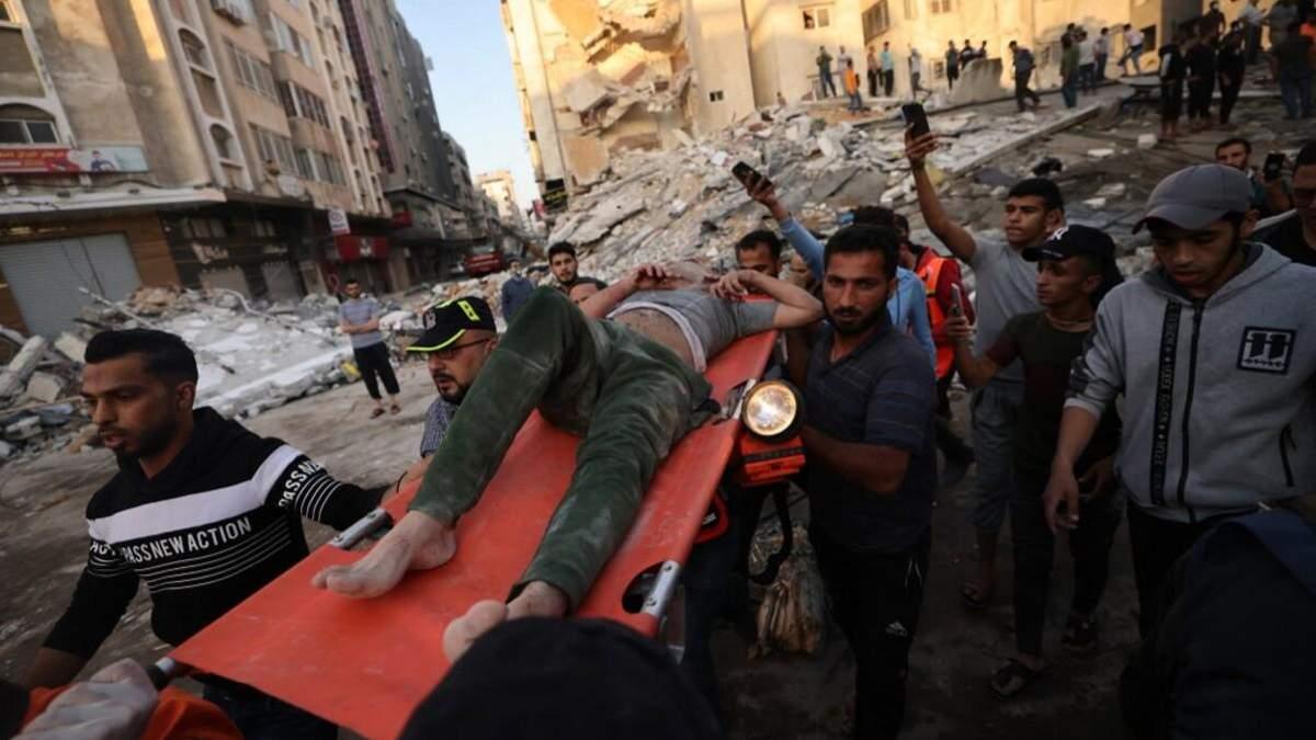 Понад 40 загиблих: Ізраїль завдав смертоносний удар по Палестині