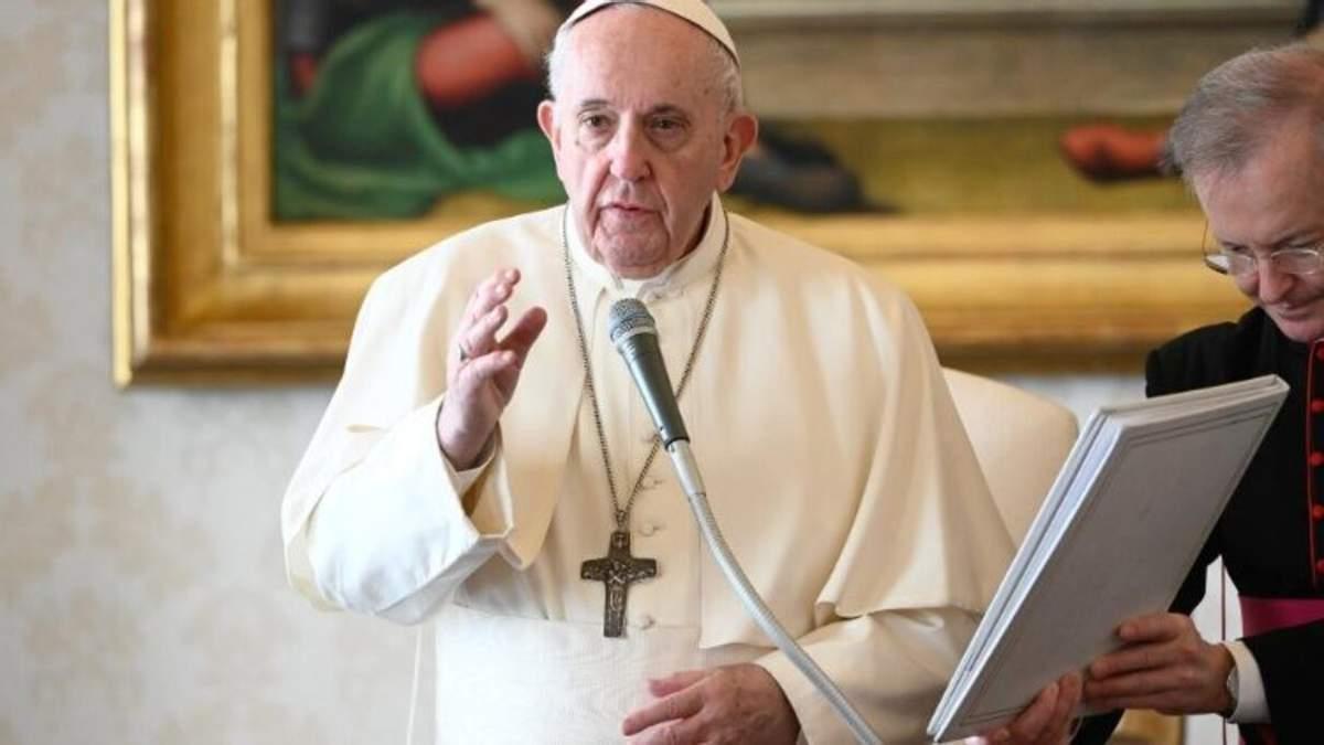 Папа Римський закликав припинити насильство в Ізраїлі