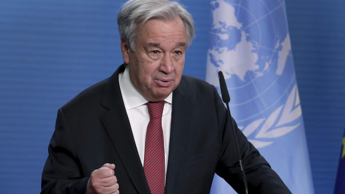 Генсек ООН закликав Ізраїль і Палестину припинити обстріли