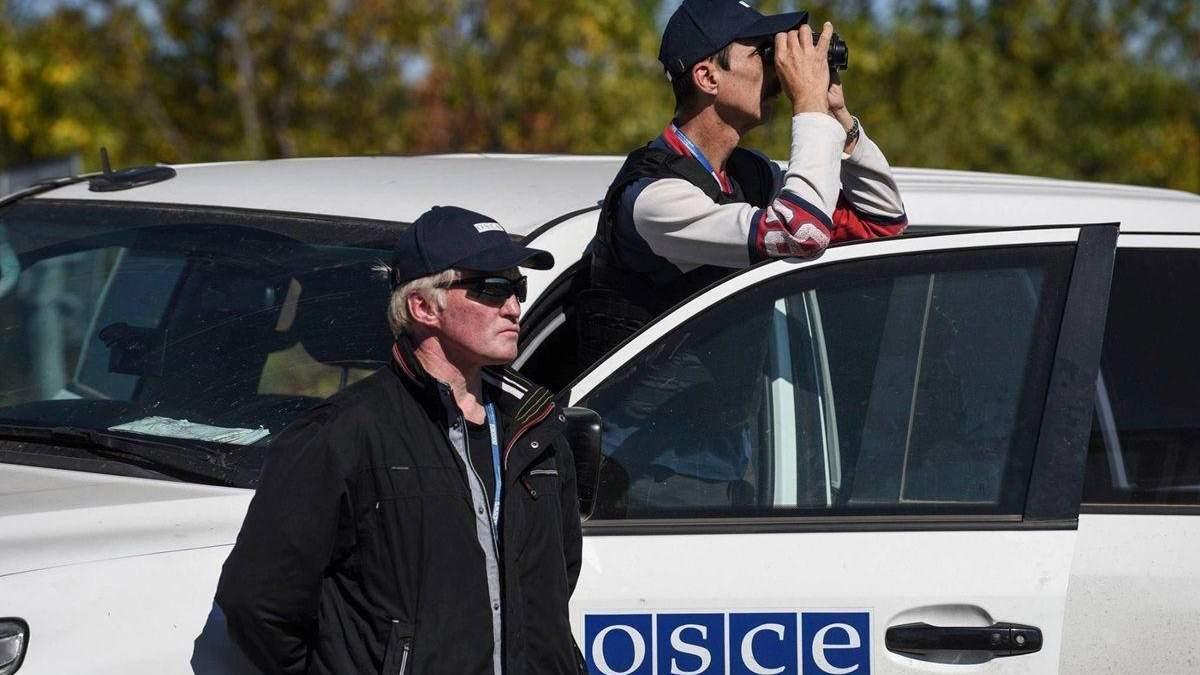 ОБСЄ поскаржилася на скупчення танків бойовиків на Донбасі