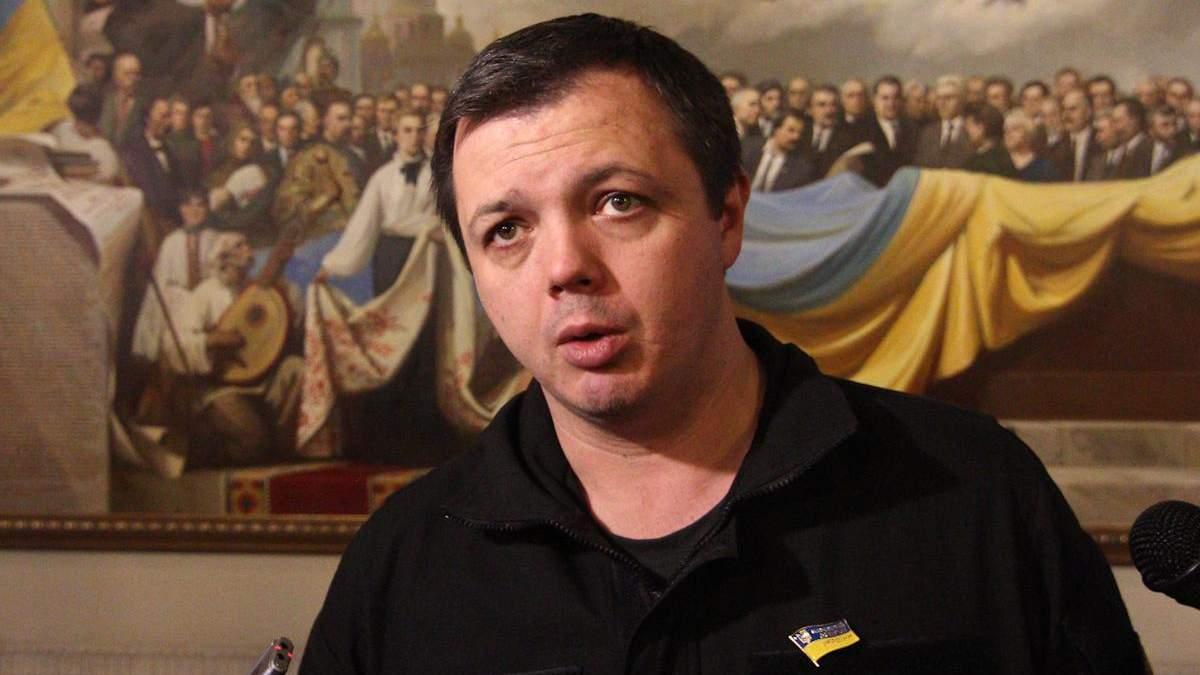 СБУ отправила Семенченко в кардиореанимацию, а затем - на суд