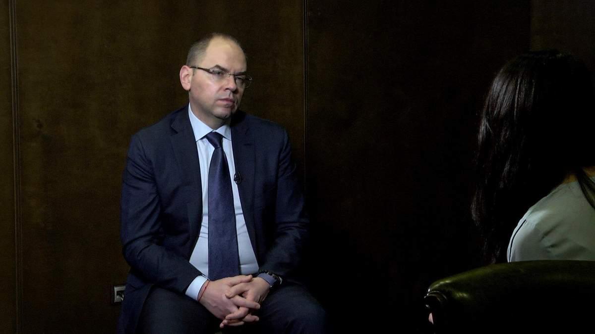 Більшість українців проти звільнення міністра охорони здоров'я
