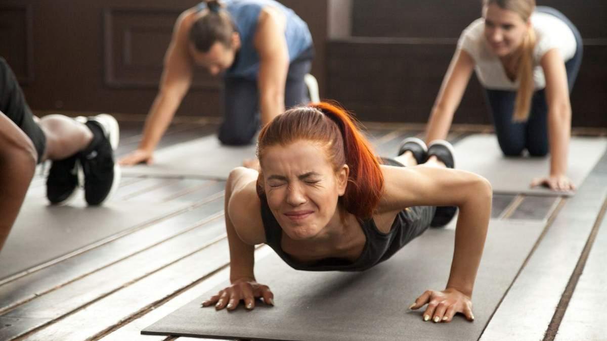Біль під час або після тренування: що це означає та чи має він бути