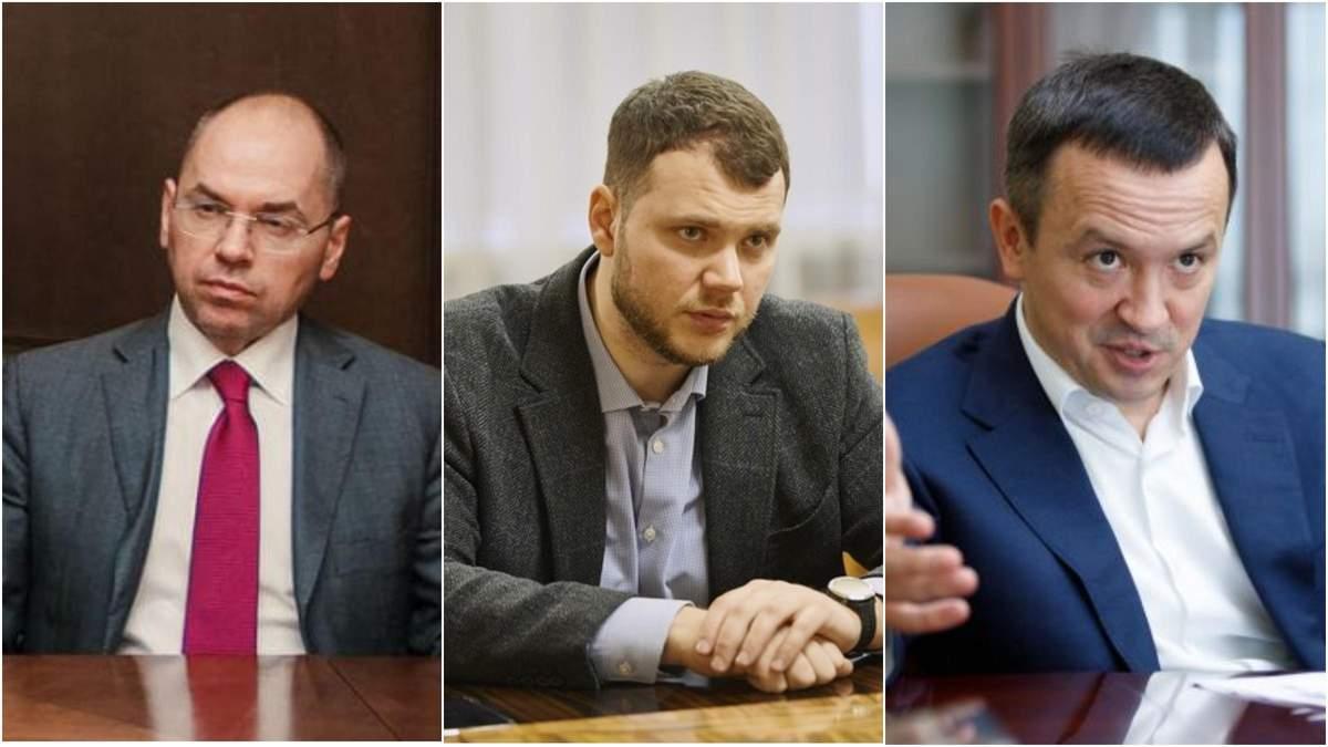 Кандидатури наступників Криклія, Петрашка та Степанова
