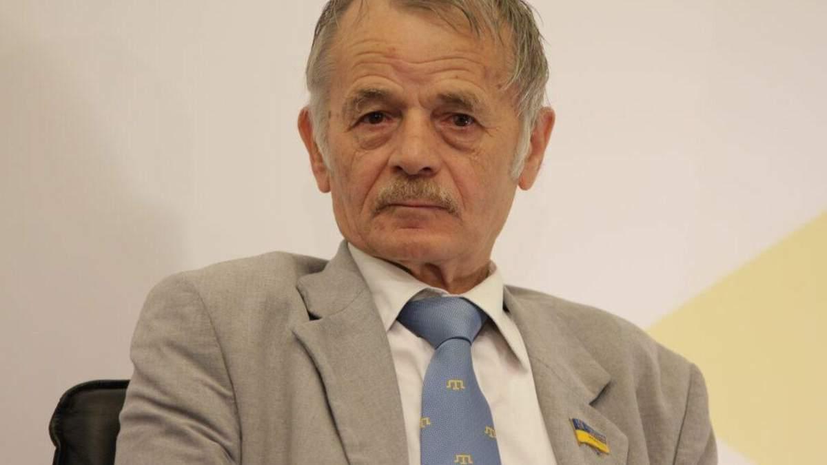 Джемілєв у Раді про Крим: Руки окупанта будуть поламані