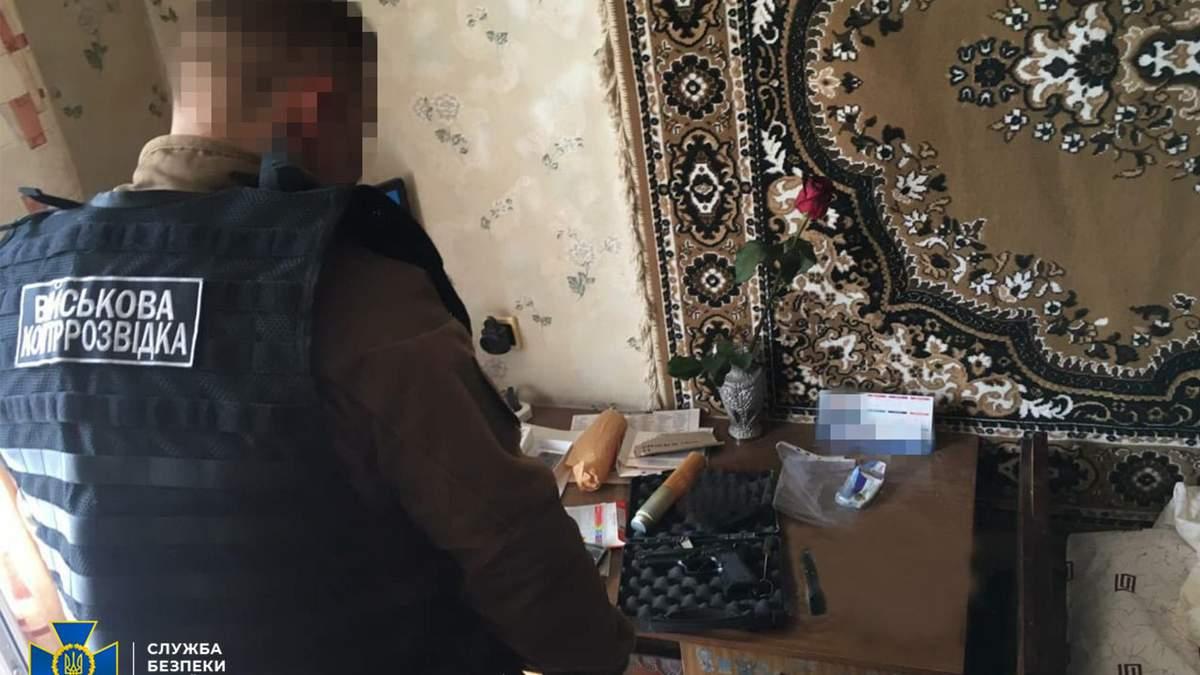 У складі ЗСУ в районі ООС викрили колишнього бойовика